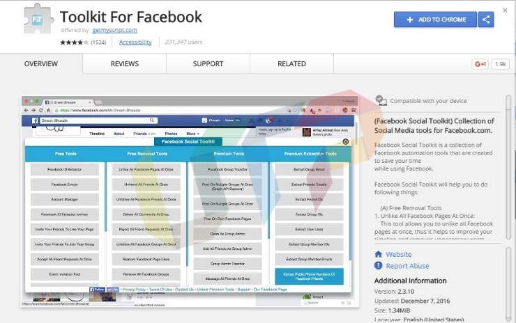 Facebook Social Toolkit Premium