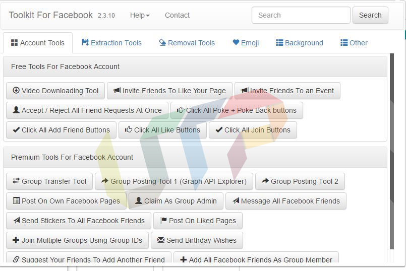 Download Facebook Social Toolkit Premium Chrome Extension