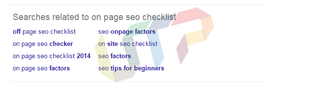Finding LSI Keywords from Google Related Search