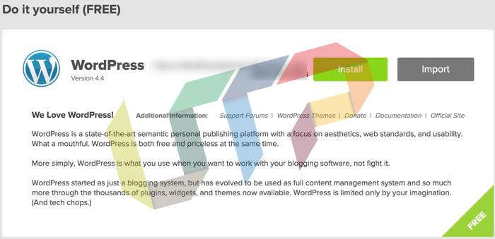 Install WordPress on Bluehost Shared hosting
