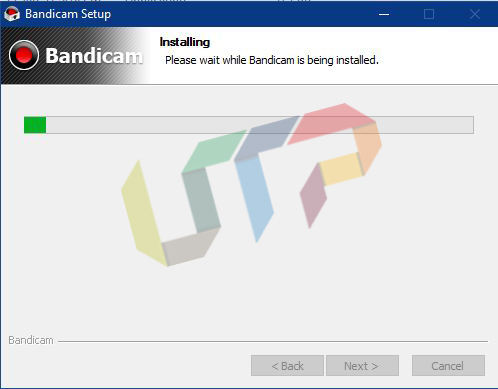 Installing Bandicam