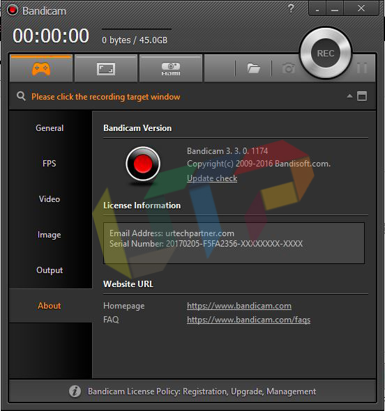 Bandicam v3.3.0.1174 Full Version
