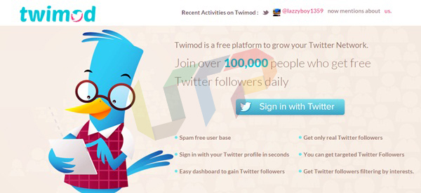 get more twitter followers free twimod