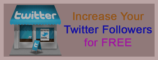get more twitter followers for free