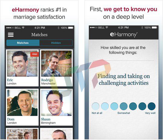 Eharmony app for android