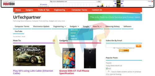 Cached Copy View of Any Website