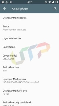 Real MAC Address of Android Device
