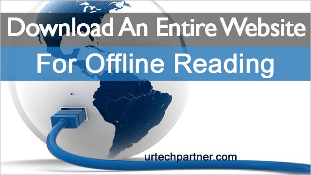 Download Complete Websites For Offline Access