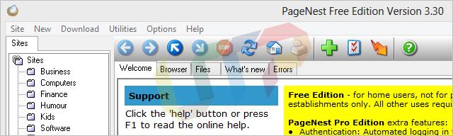 Browse a website Offline