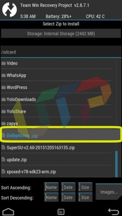 dolby atmos android zip file