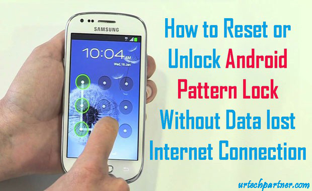 pattern lock remove without data loss
