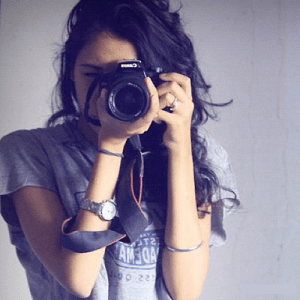 Stylish Girl DP with Camera
