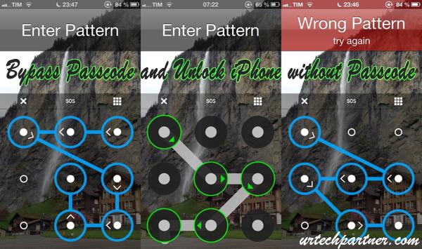 unlock bypass iphone passcode