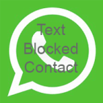 Text Blocked WhatsApp Contact