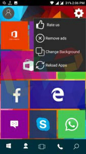 Download Real Windows 10 Launcher for Android with Win10