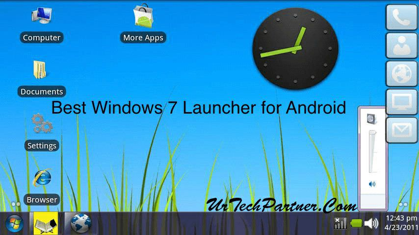 Download Latest Version Windows 7 Launcher APK for Android