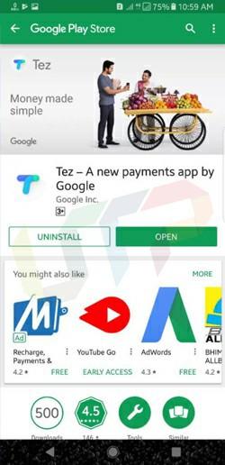 Tez App