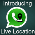 Share Current Location on WhatsApp