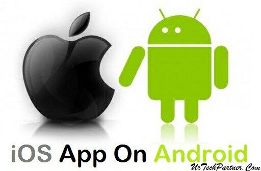 ios app on android