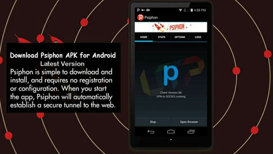 Psiphon Apk Download