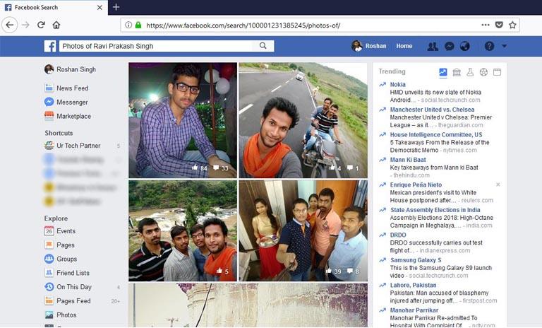 see hidden photos on facebook