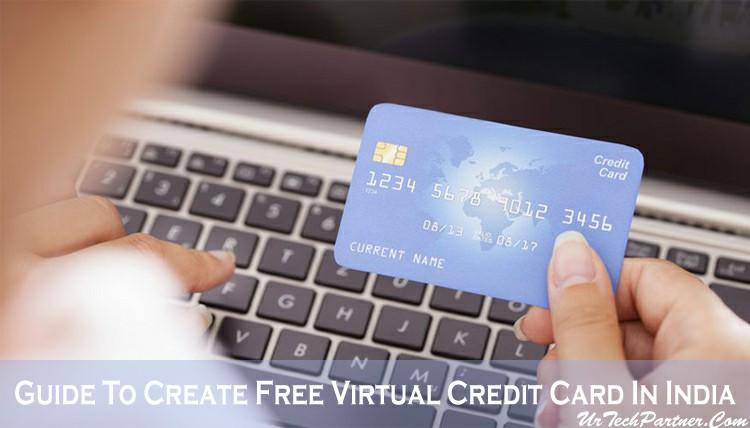 Free Virtual Credit Card