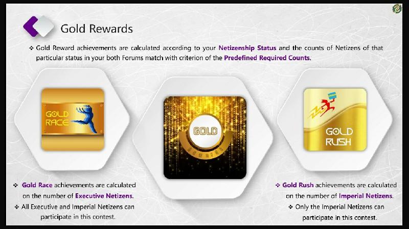 Gold Rewards