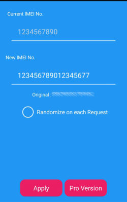Android IMEI Changer Tool