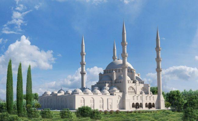 Në themelet e një Xhamie të Madhe…