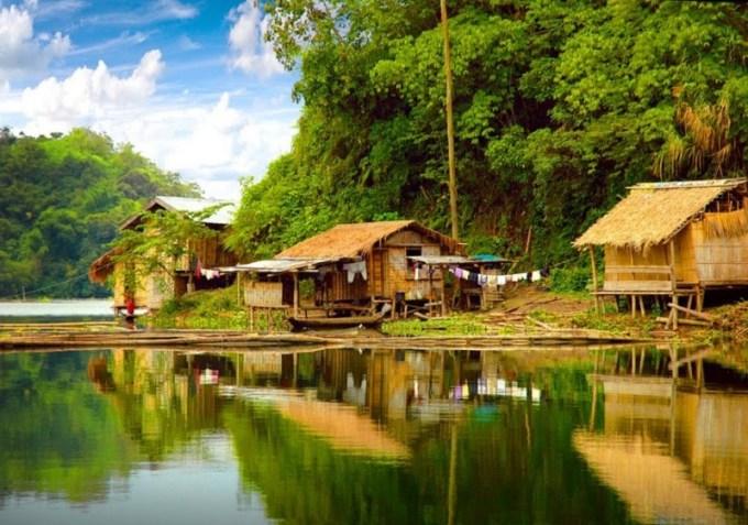 foto ini merupakan foto desa tempat peristiwa perjanjian kalijati