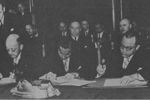 perjanjian konferensi meja bundar ini ditanda tangani oleh beberapa orang