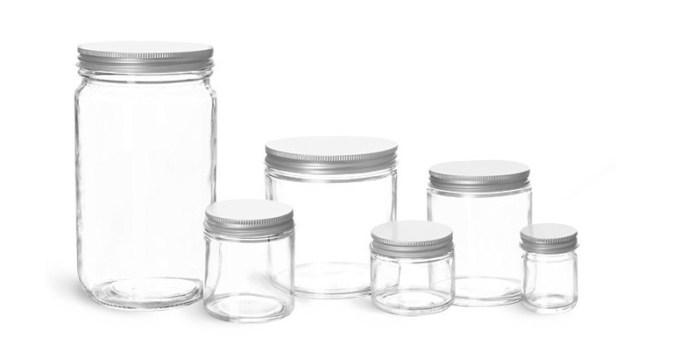 toples kaca yang kami jual ini menggunakan tutup alumunium yang trendi dan gaya
