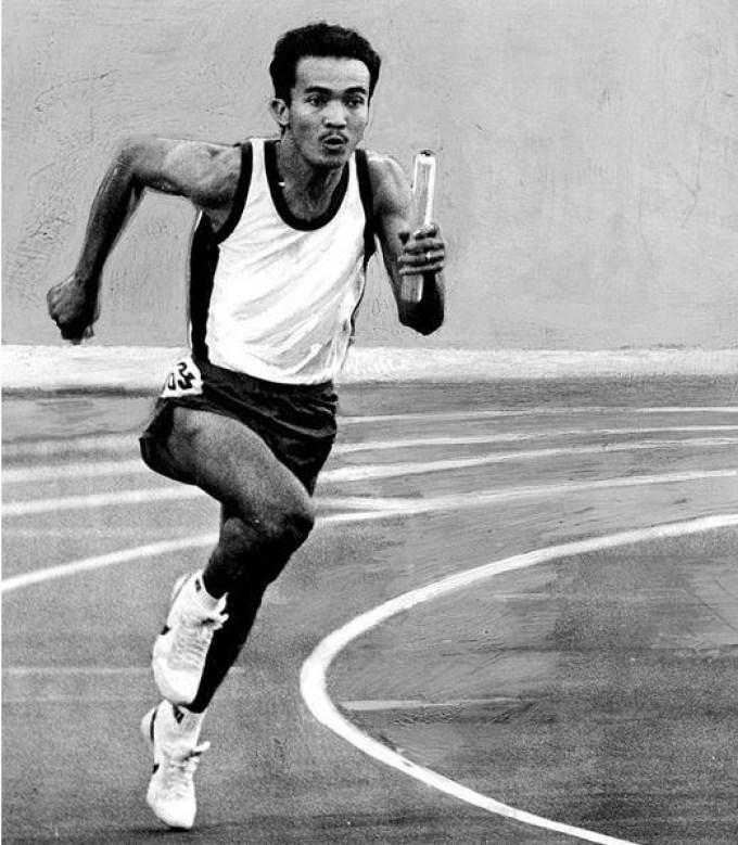 purnomo merupakan atlet lari indonesia yang berhasil membawa medali emas