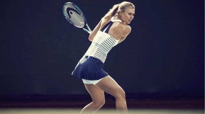 ratu lapangan tenis ini merupakan atlet wanita cantik