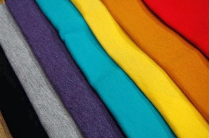 konveksi pembuat baju biasanya menggunakan jenis bahan kain kaos