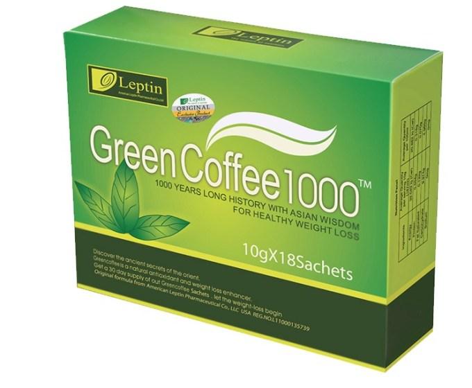 green coffee leptin 1000 merupakan jual kopi hijau alami