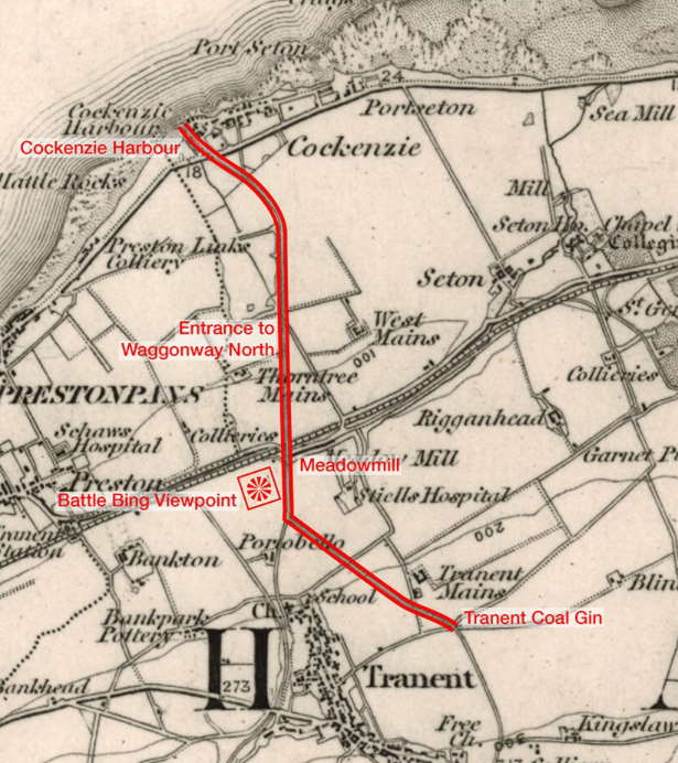 первая железная дорога в Шотландии.