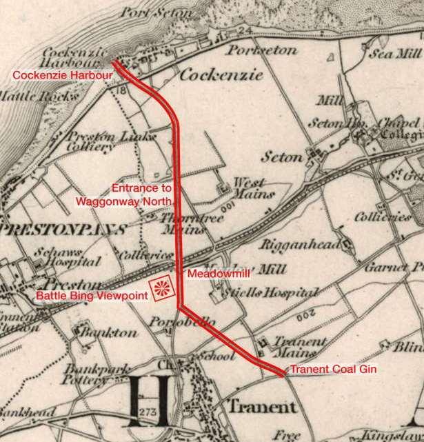 Первая железная дорога Шотландии