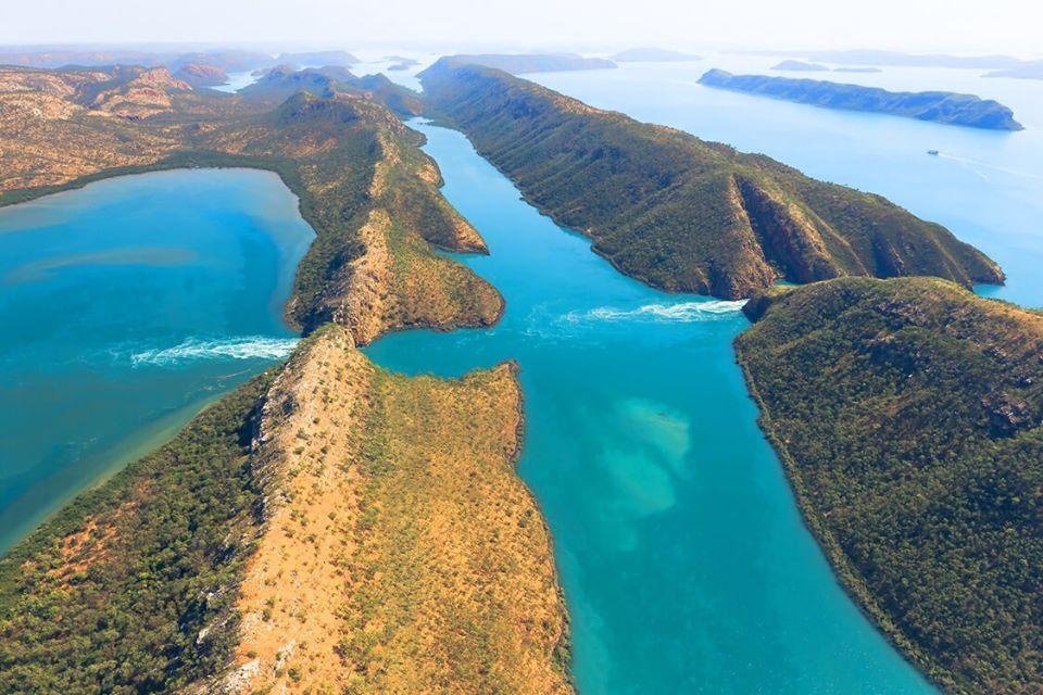 Природное чудо Австралии – Горизонтальные водопады!