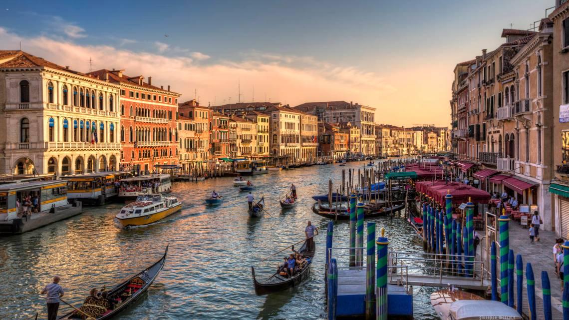 Большой канал Венеции. Прекрасные Дворцы. Часть 2.