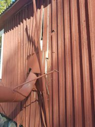 Knäckt fasad