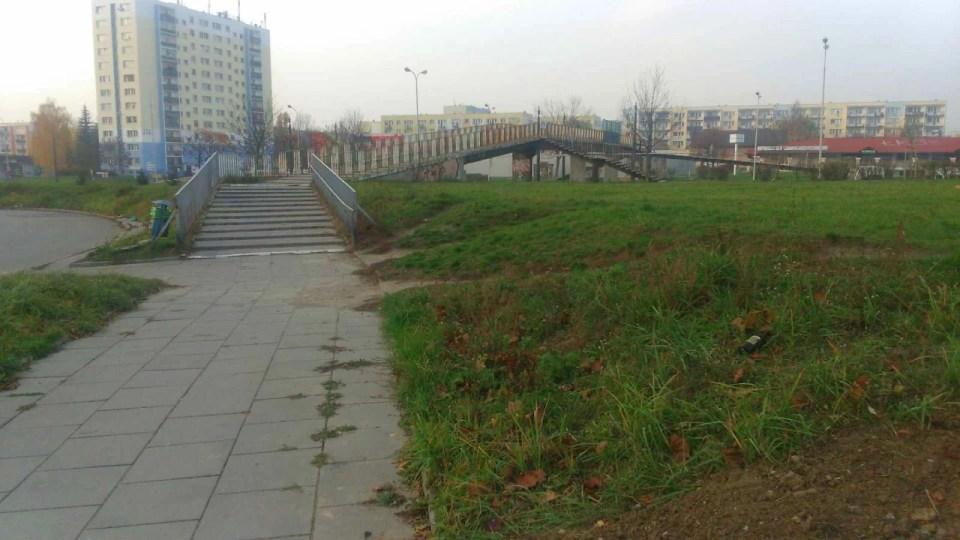 osiedlowa kładka dla pieszych
