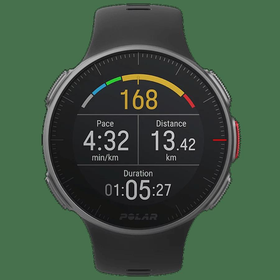 polar vantage v do pomiaru tempo biegania