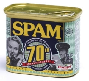 spam 70th ann