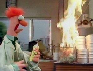 Beaker muppet