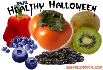 healthy halloweenfruit