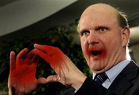 Steve Balmer attack bloody