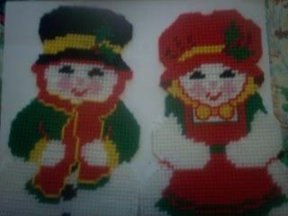 Snowmen Needlepoint