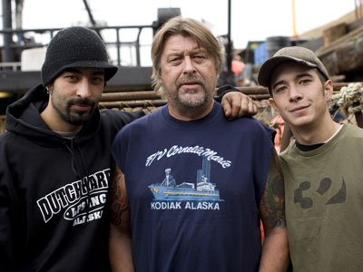 deadliest catch phil harris sons jake josh large