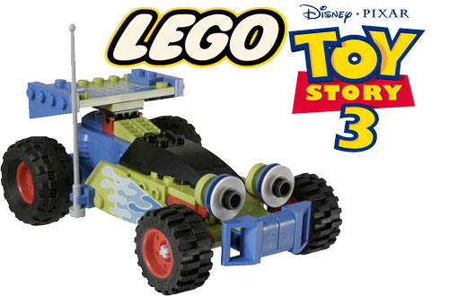 lego toy story car disney pixar